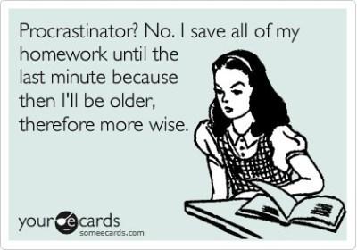 19b - procrastination