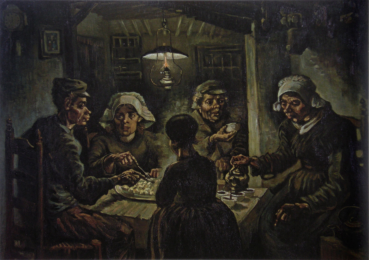 The Potato Eaters (Van Gogh 1885)